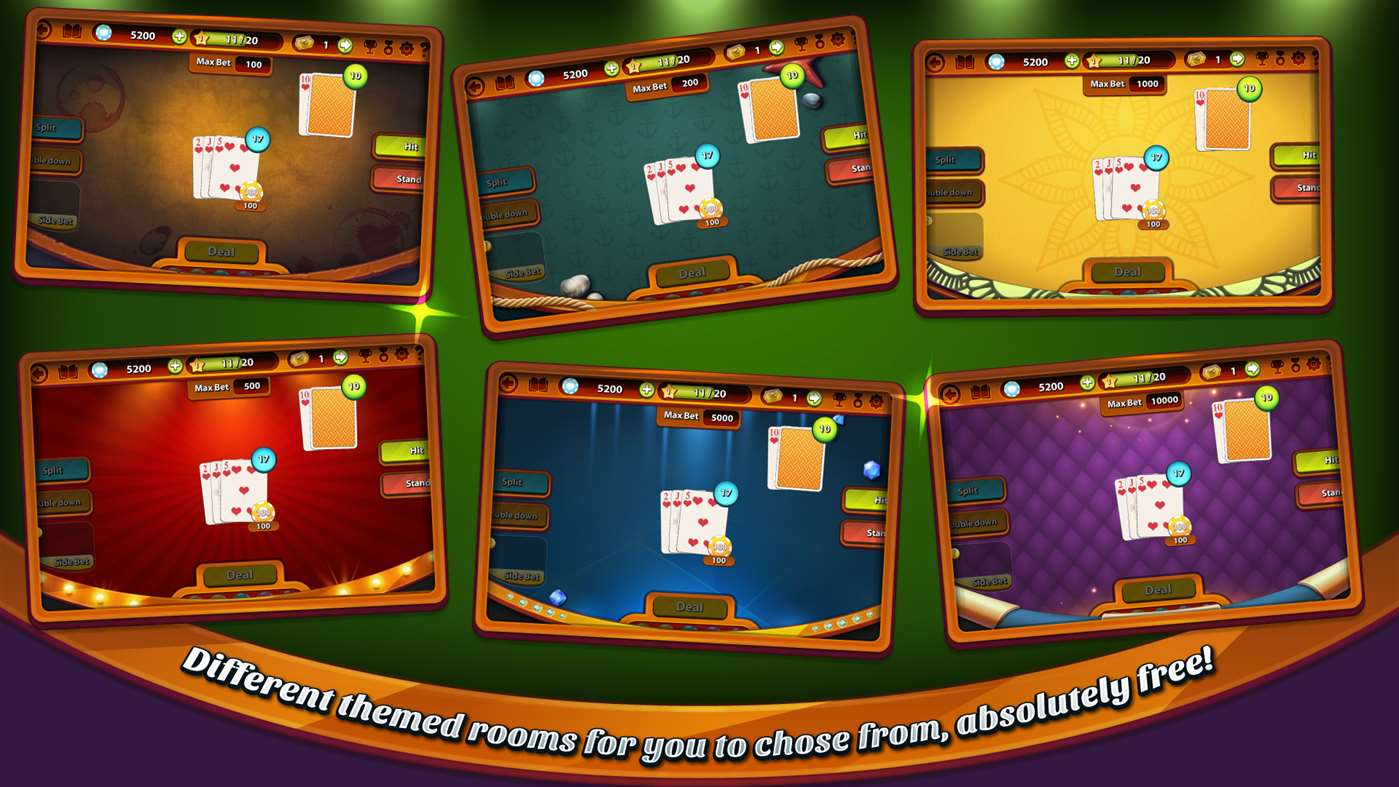 One on one blackjack