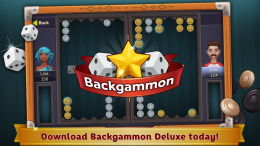 New Version of Backgammon Deluxe